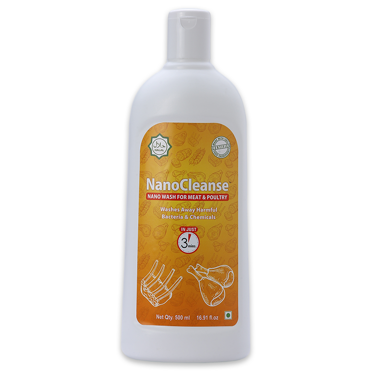 NanoCleanse 500 ml Meat & Poultry Wash
