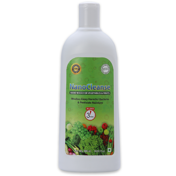 NanoCleanse 500 ml Veggie & Fruit Wash
