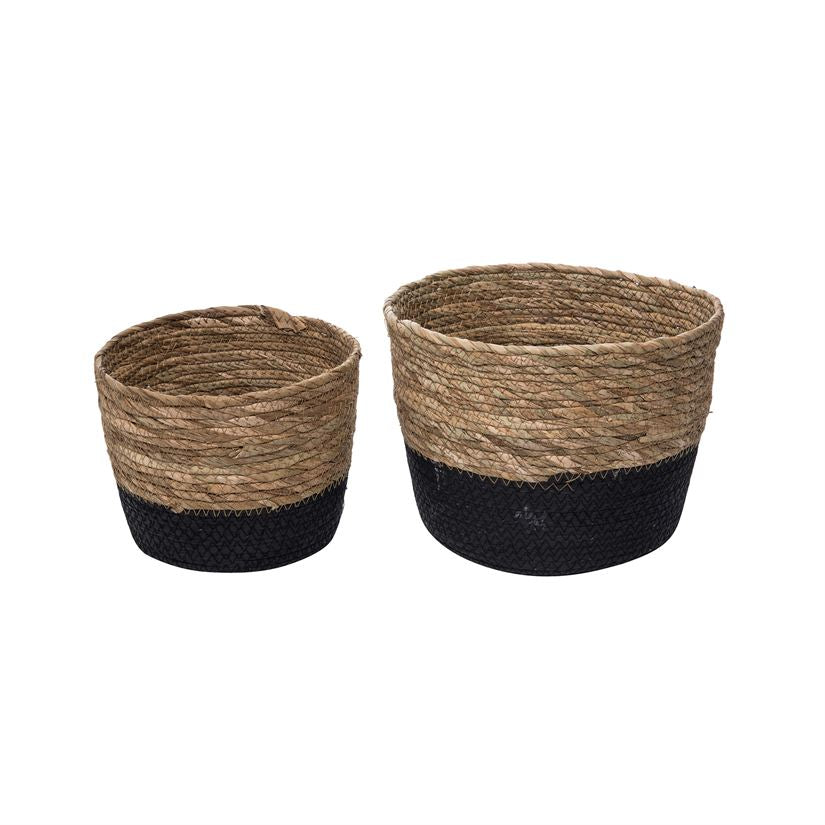 Set of Two Natural Baskets