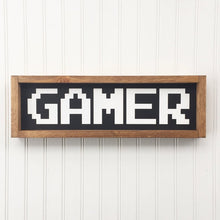 Load image into Gallery viewer, Gamer Framed Sign