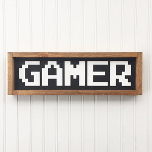 Gamer Framed Sign