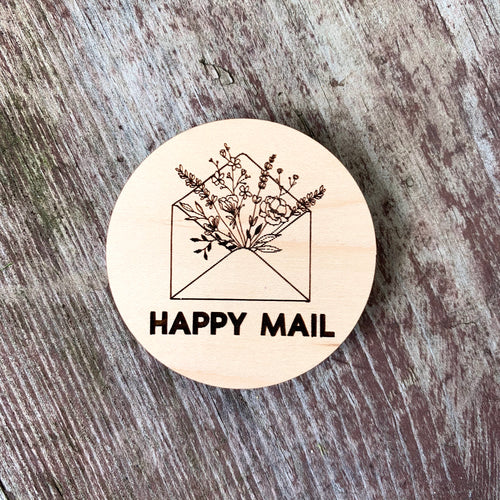 Happy Mail Magnet