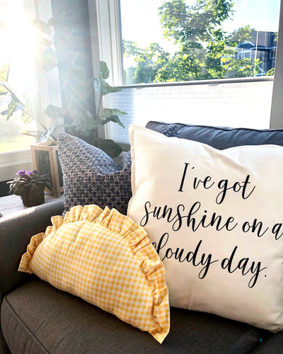 Sunny Day Pillow