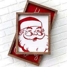 Load image into Gallery viewer, Santa Claus Framed Sign