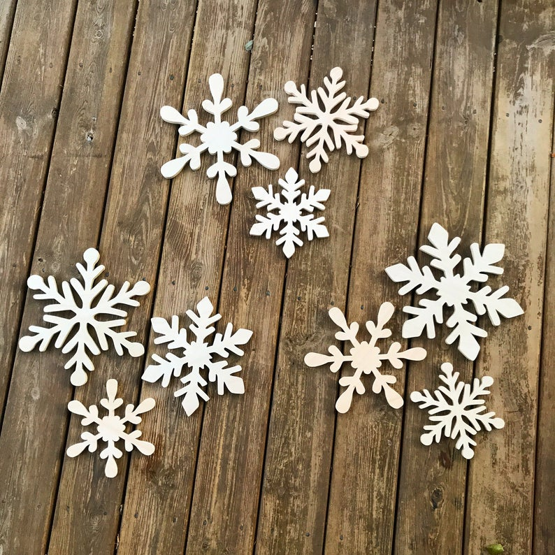 Snowflake Cutout Set