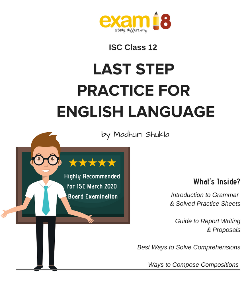 ISC Class 12 English Language Last Step Practice Package