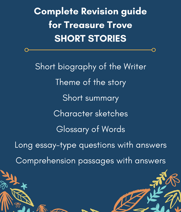 Ultimate Guide to English Treasure Trove Short Stories for ICSE Class 9 & 10