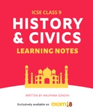 icse class 9 history and civics learning notes study guide reference material