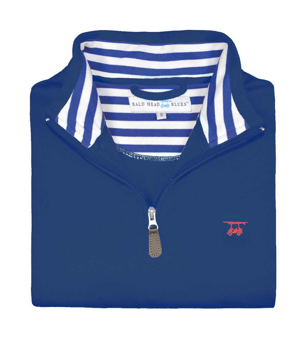 19th Hole Quarter-Zip Pullover - Medieval