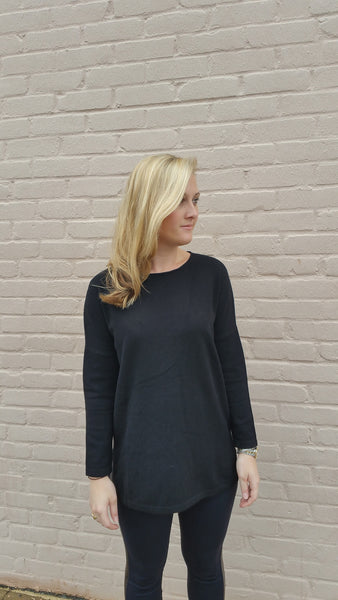 Sunset Cashmere Sweater - Women's - Black