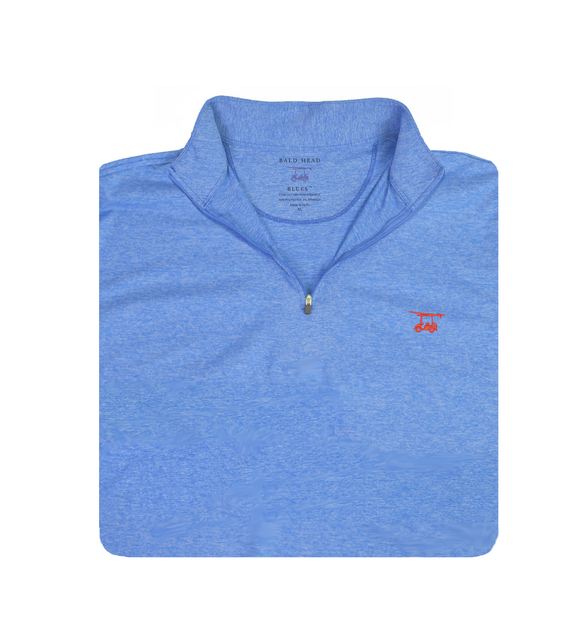 *NEW* Youth Ocean View Quarter Zip - Heather Regatta