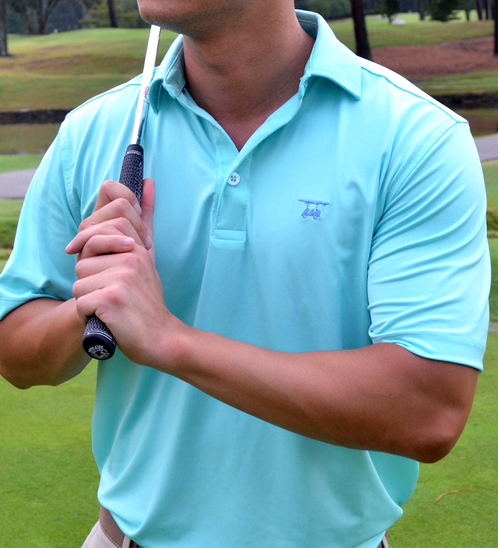NEW Albatross Polo - Solid Aruba