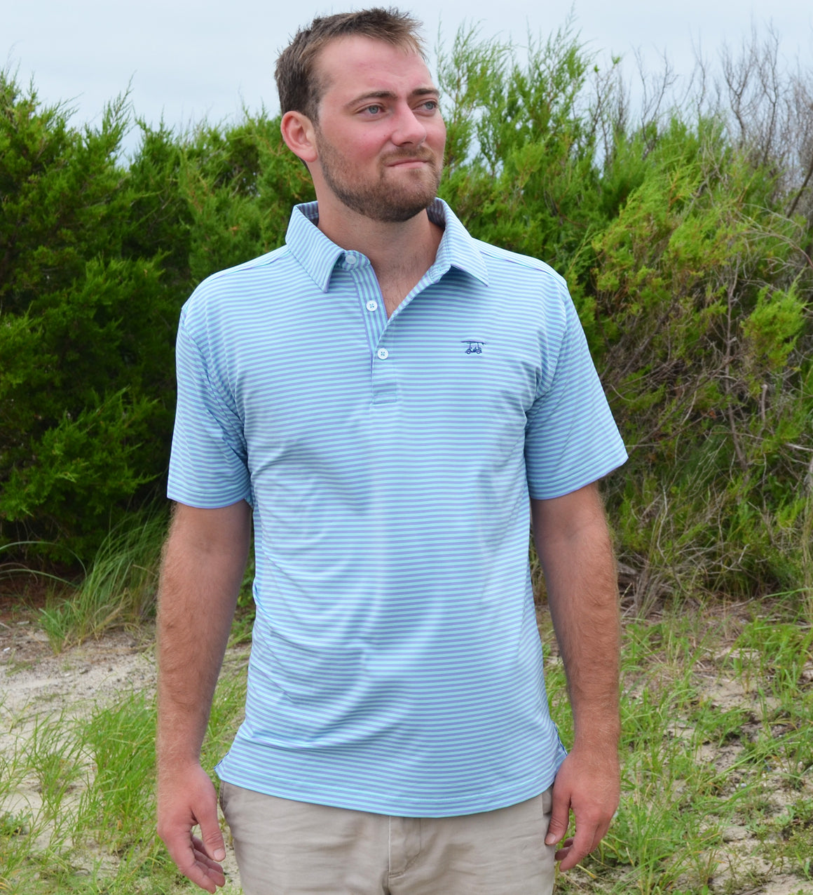 NEW Albatross Polo -Lavender/Aruba