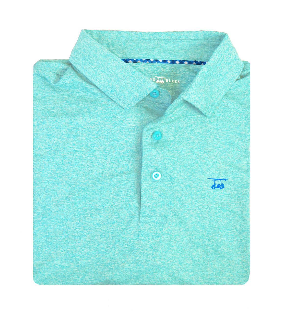 *NEW* Albatross Polo - Heather Aruba