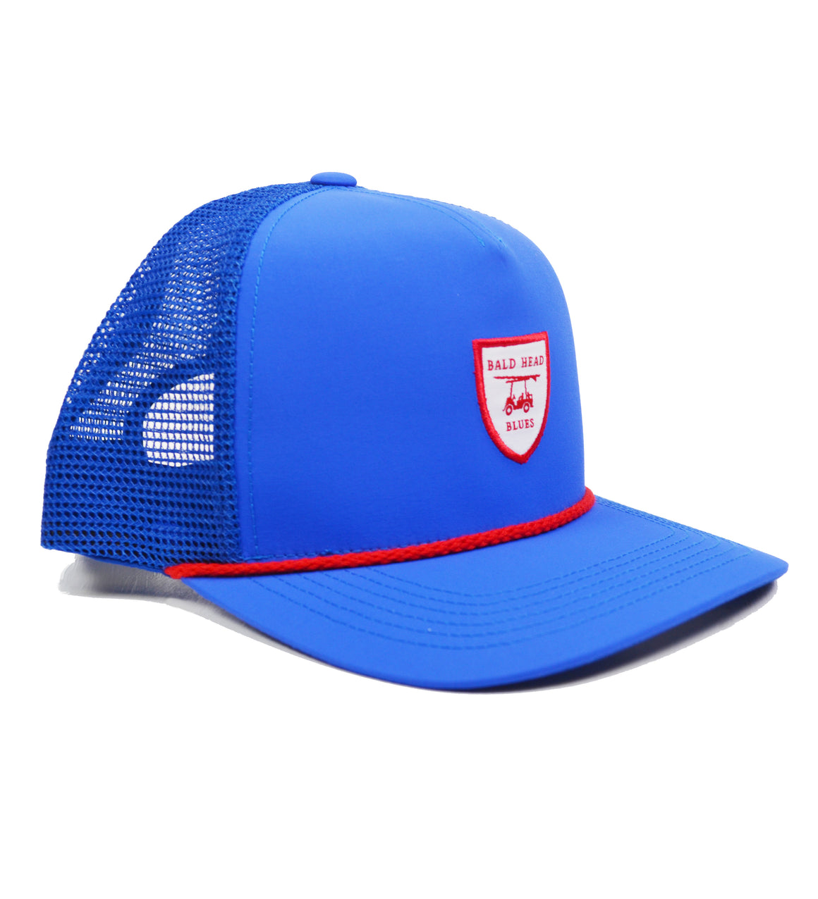 NEW Performance Trucker Hat - Blue