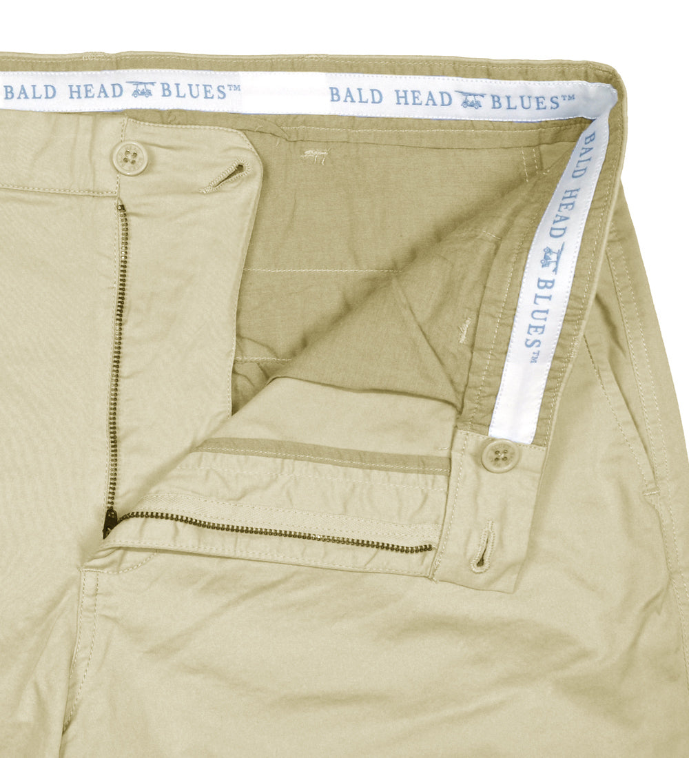 8a6e6eafb NEW Boardwalk Short - Khaki - Bald Head Blues