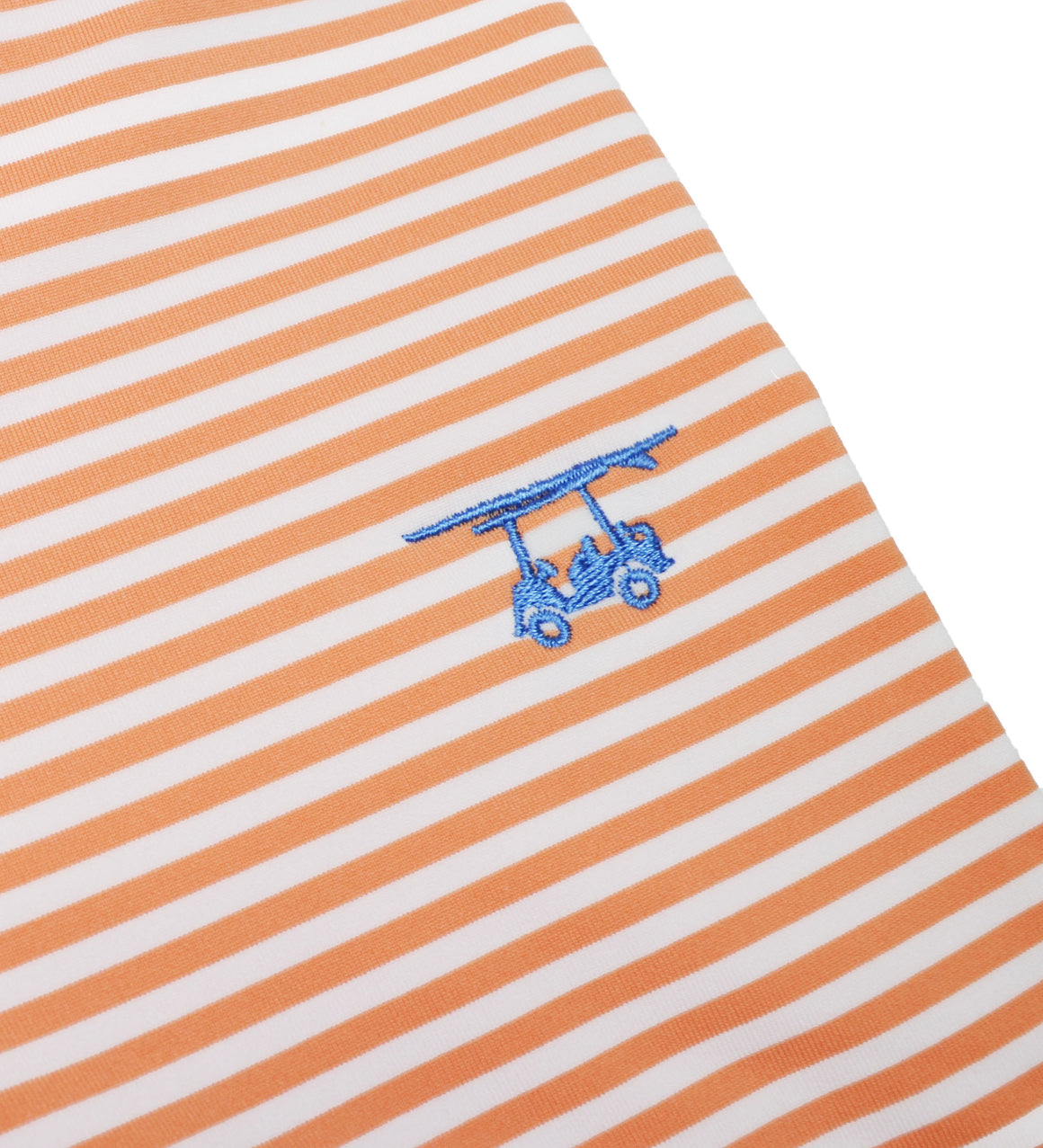 NEW Albatross Polo - Cantalope/White