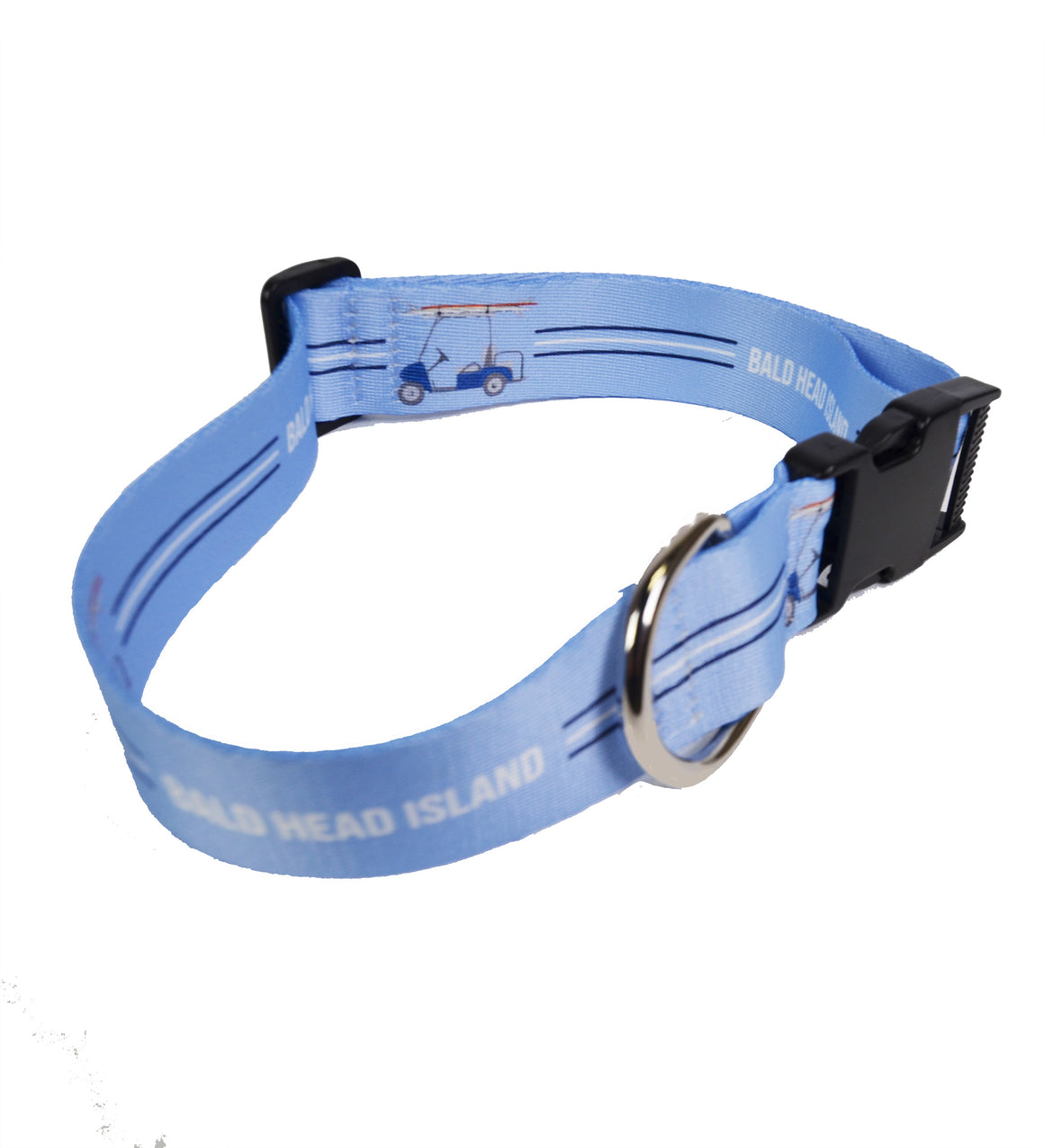Printed Dog Collar - Golf Cart
