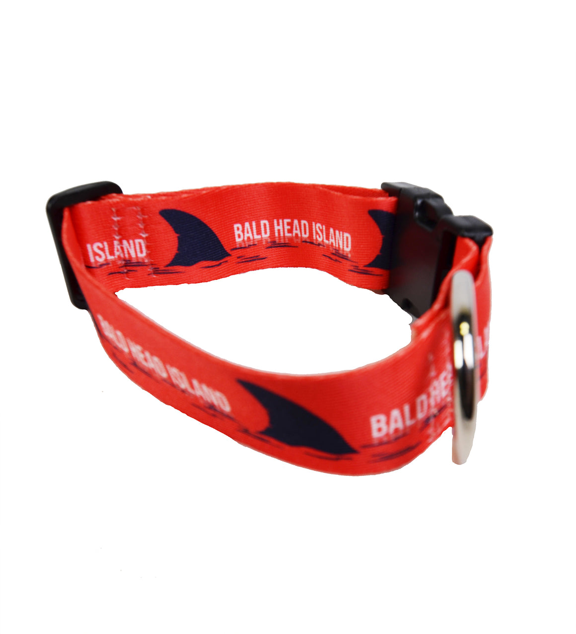 Printed Dog Collar - Fins