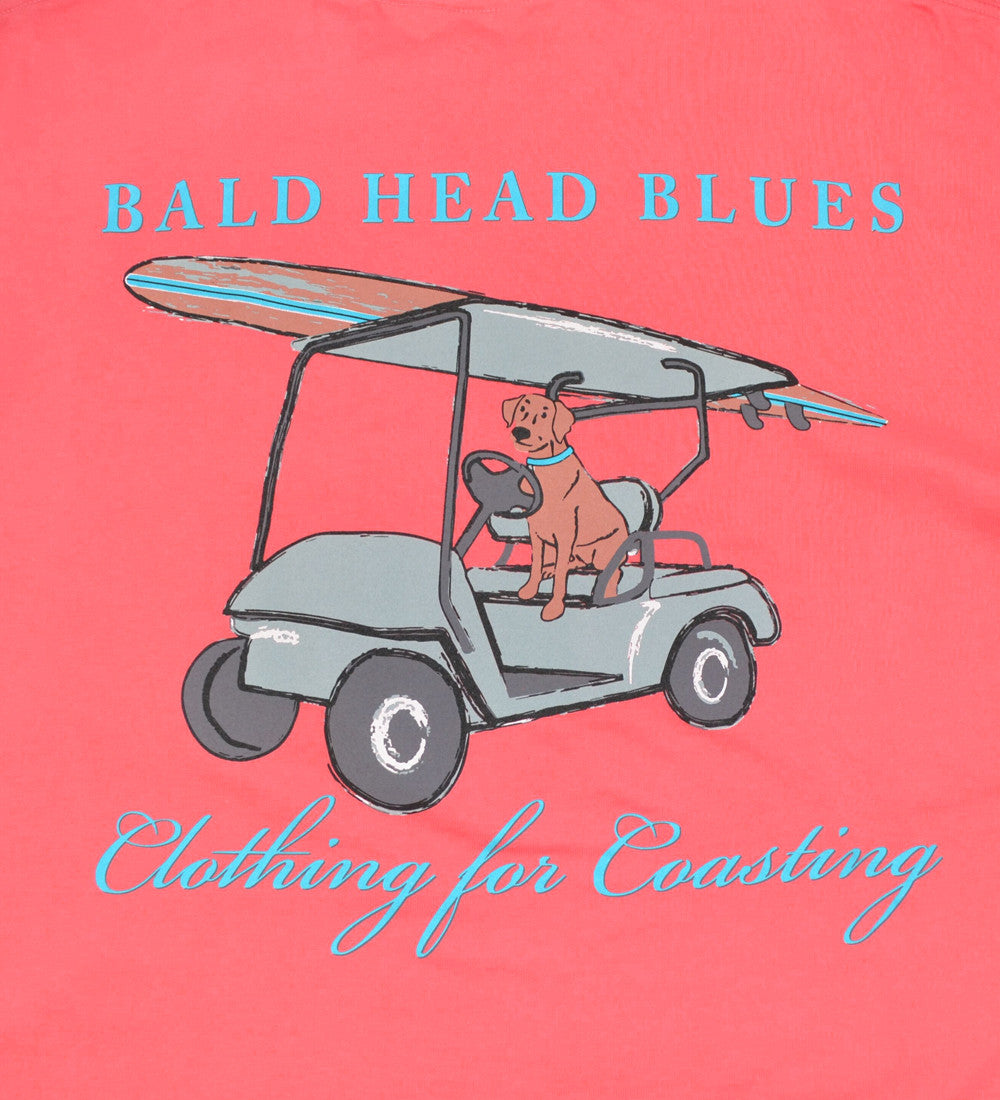 Island Tee - Short Sleeve Dog - Nantucket Red