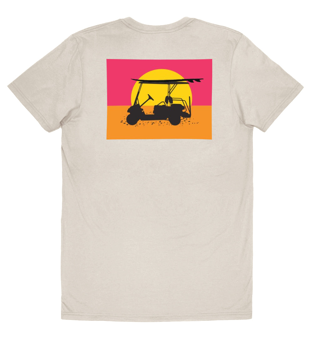 Island Tee - Endless Sunset - Oyster