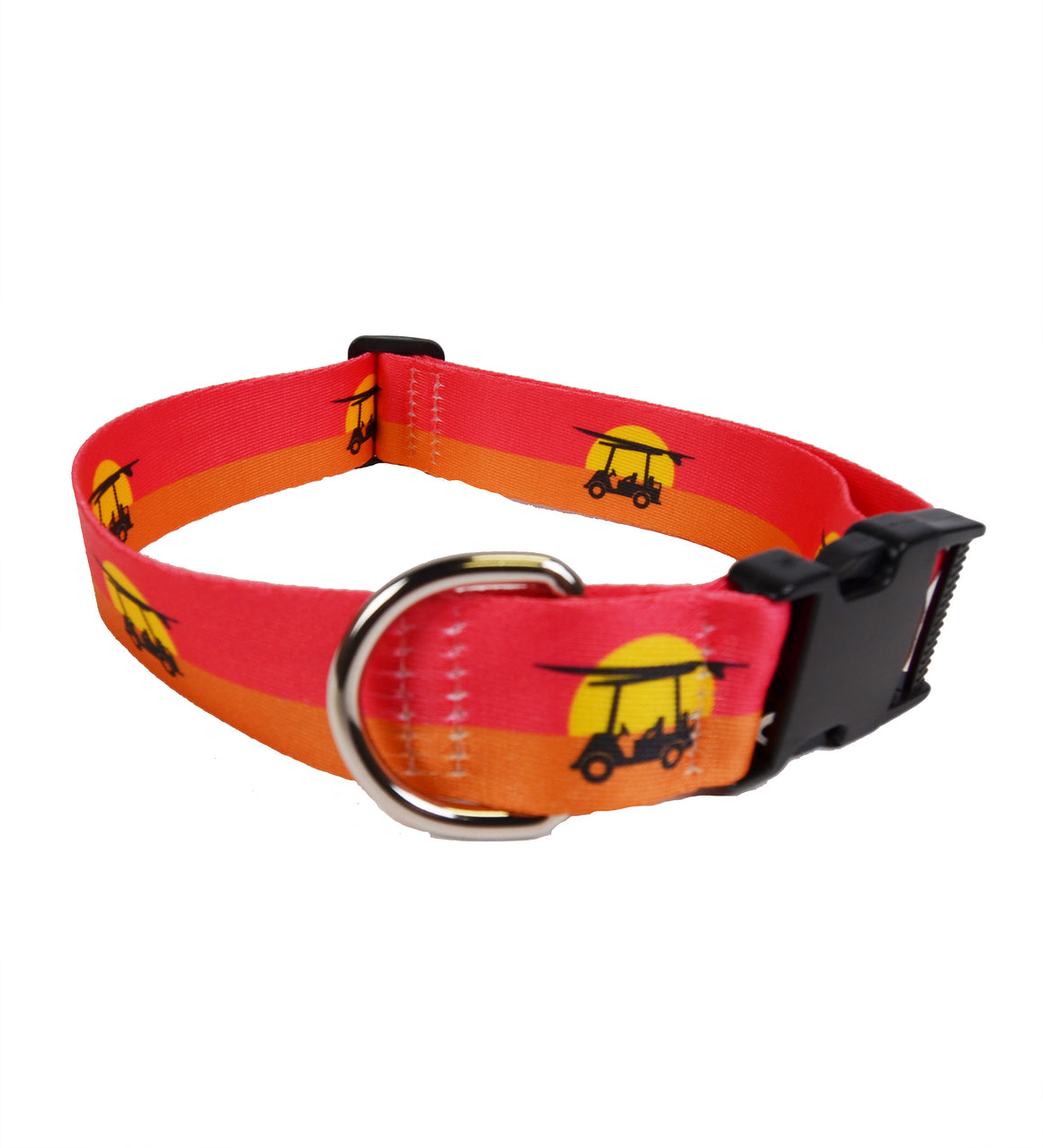 Printed Dog Collar - Endless Sunset