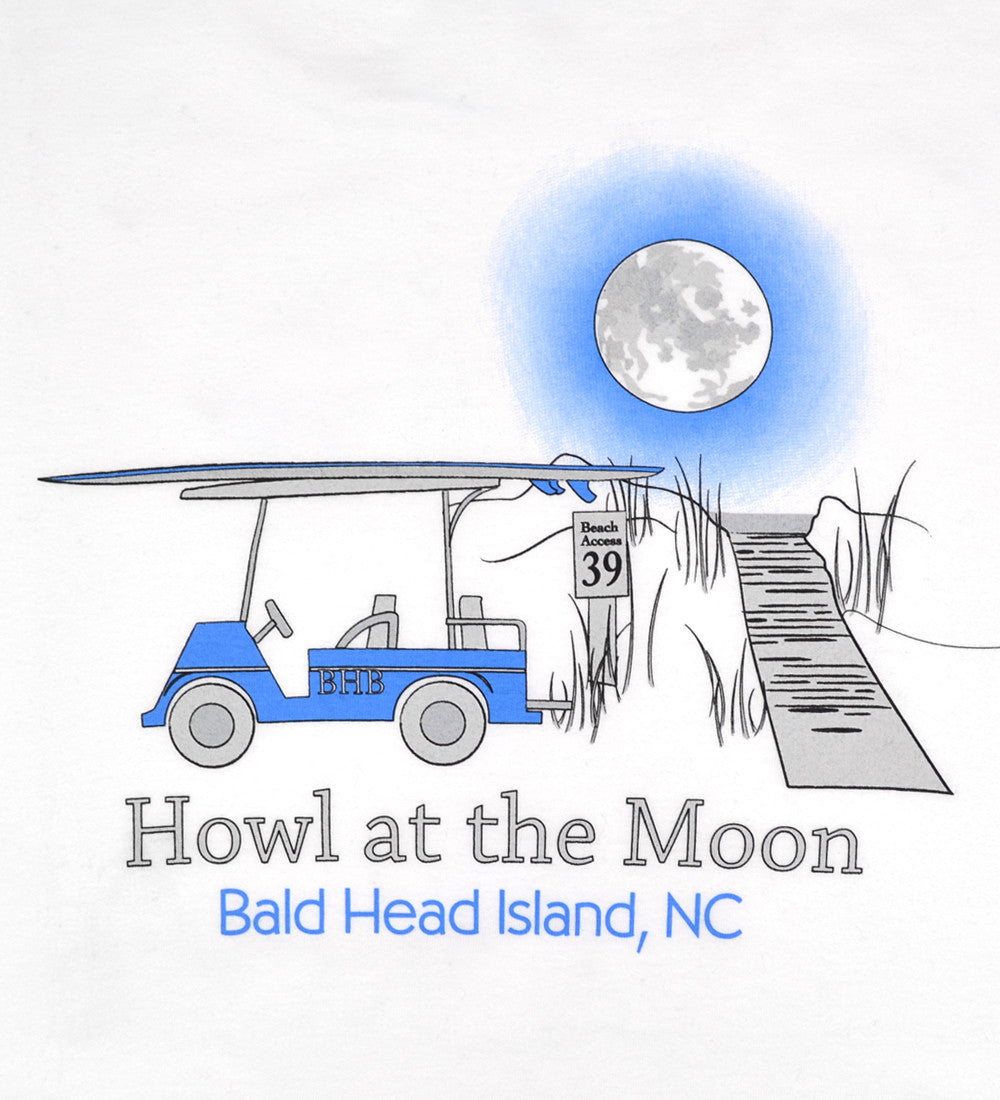 Island Tee - Youth Short Sleeve Howl at the Moon