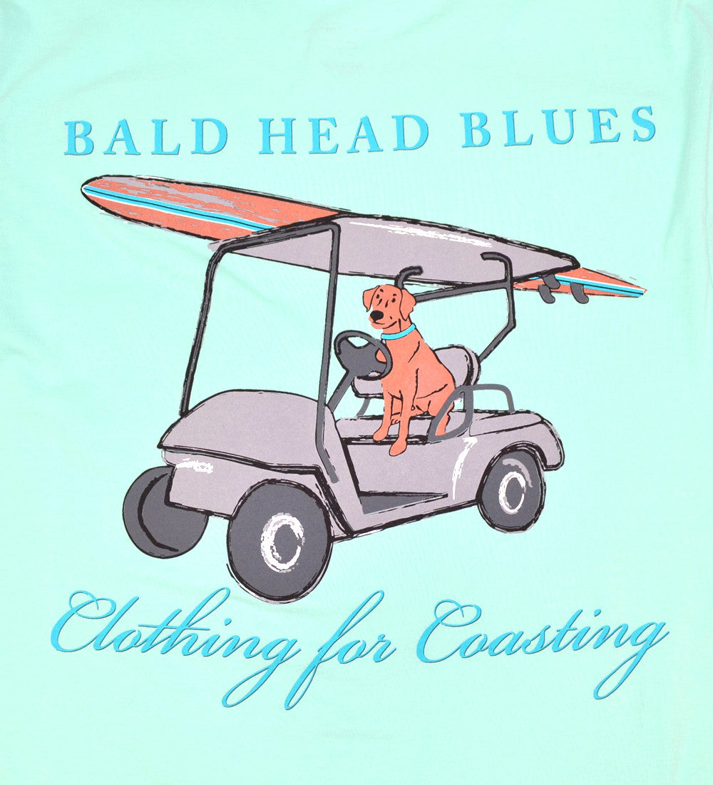 Island Tee - Short Sleeve Dog - Mint Julep