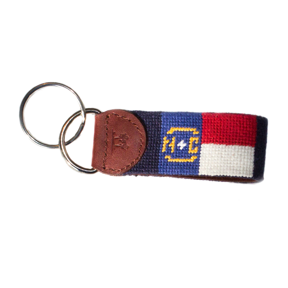 North Carolina Flag Key Fob