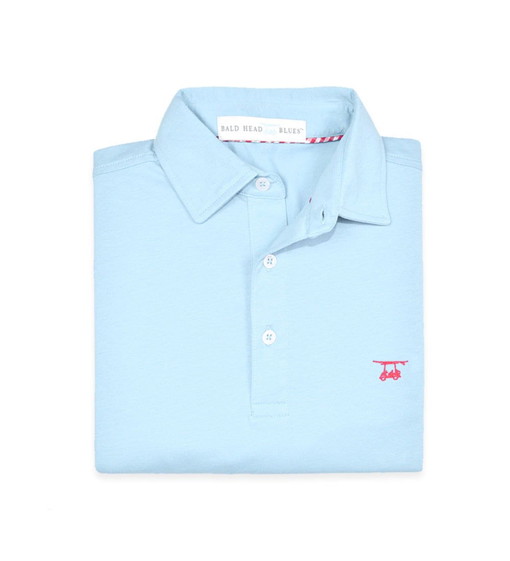 Ace Youth Polo - Solid Light Blue