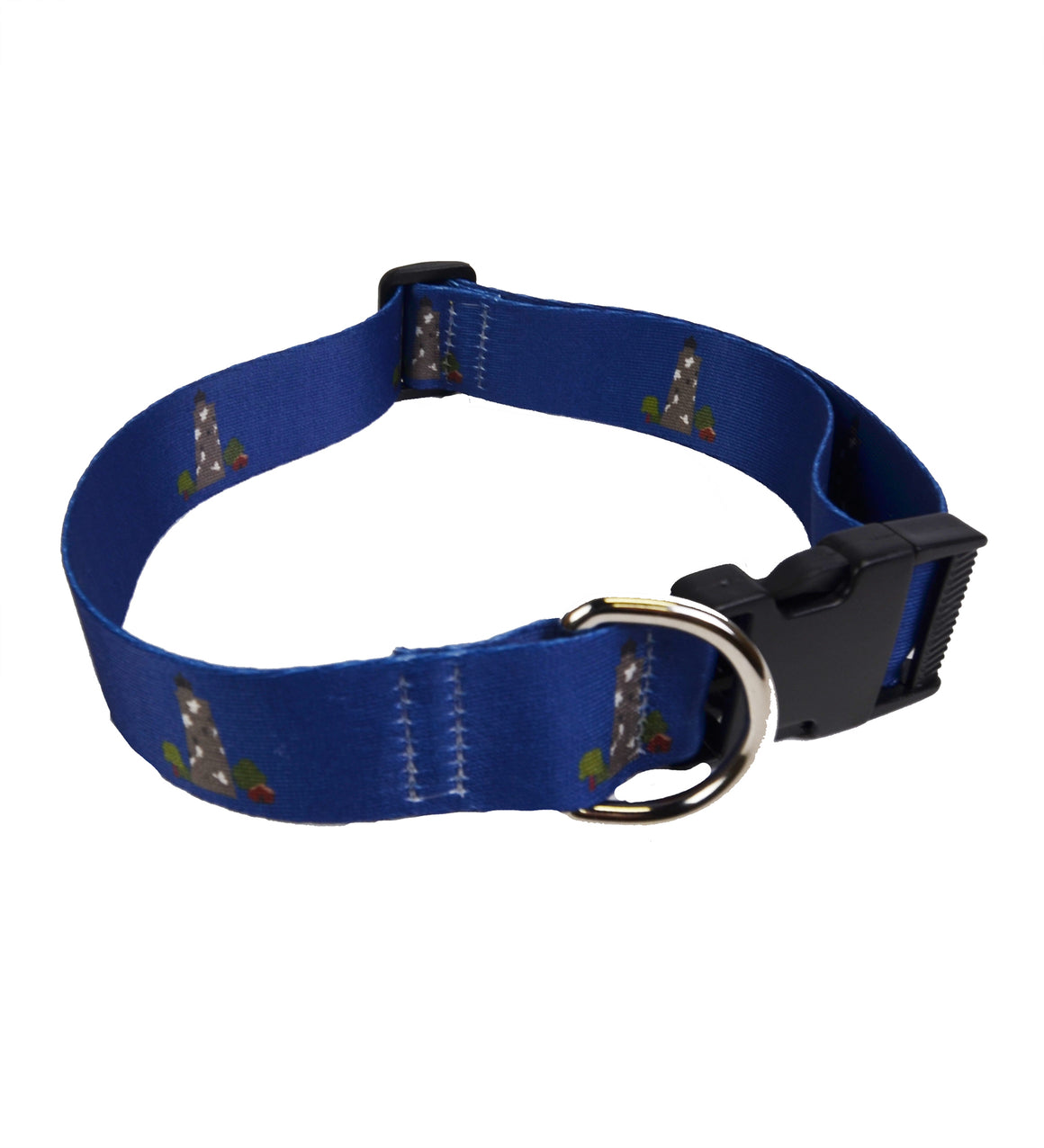 Printed Dog Collar - Lighthouse