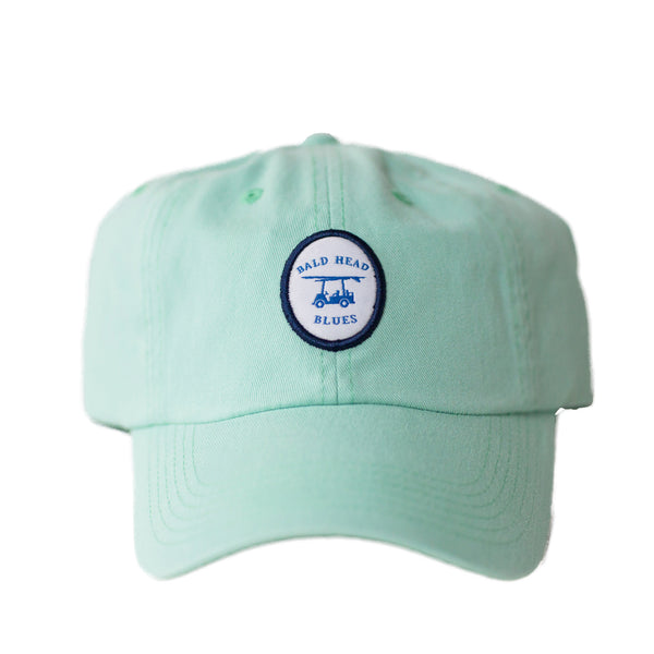 Bald head Blues Mint Logo Hat