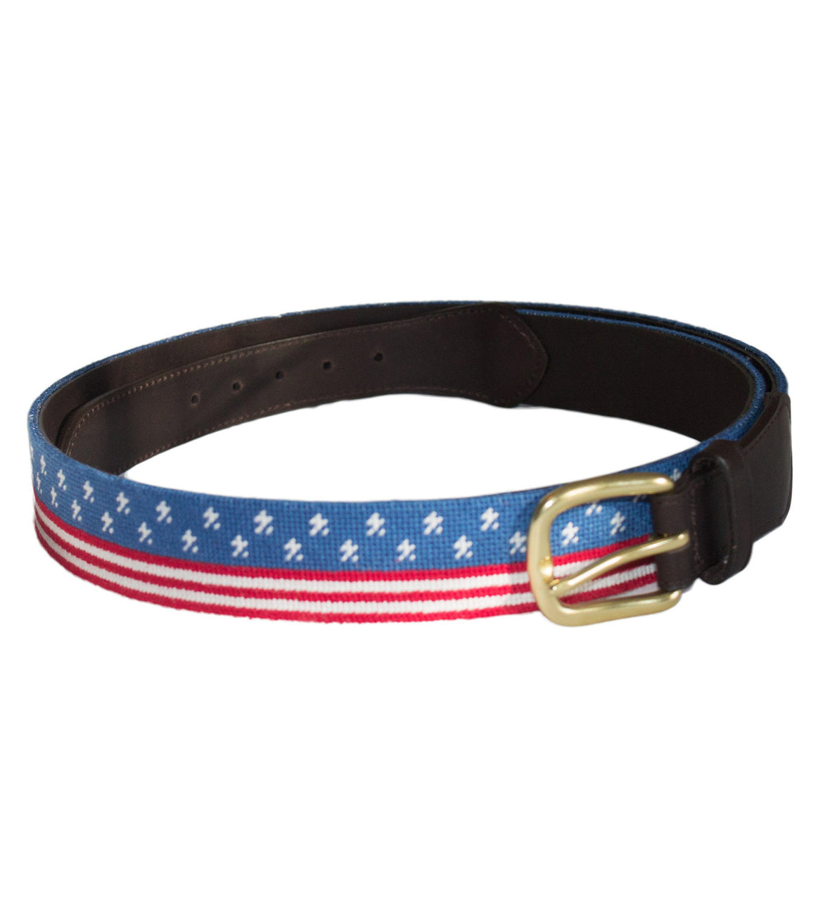 Needlepoint Belt - Stars & Stripes