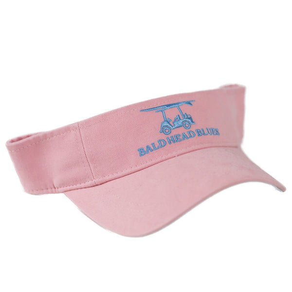 Pink Visor from Bald Head Blues