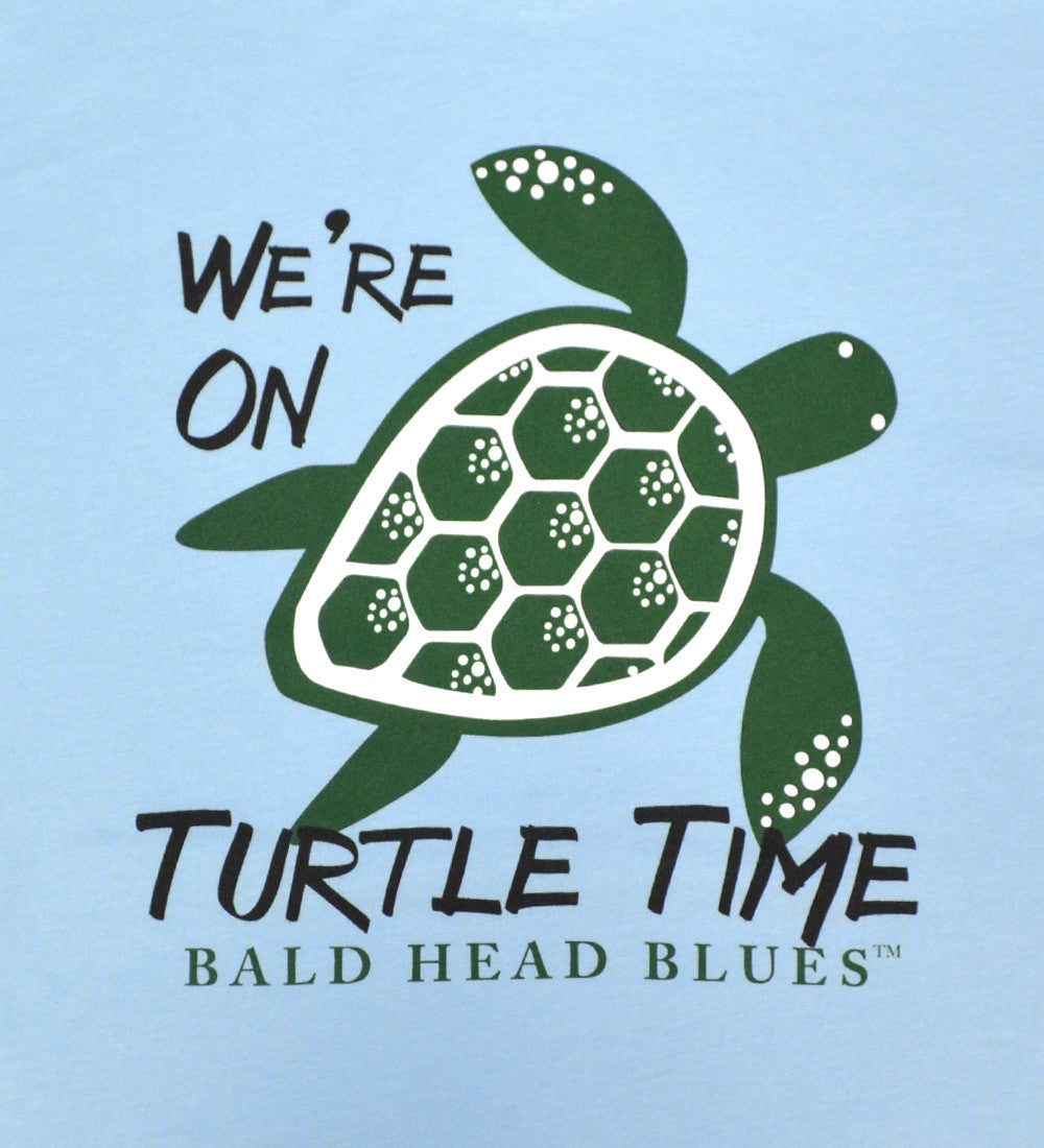 Island Tee - Youth Short Sleeve - Blue Turtle Time
