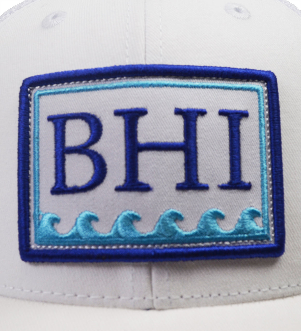 BHI Trucker Hat - White
