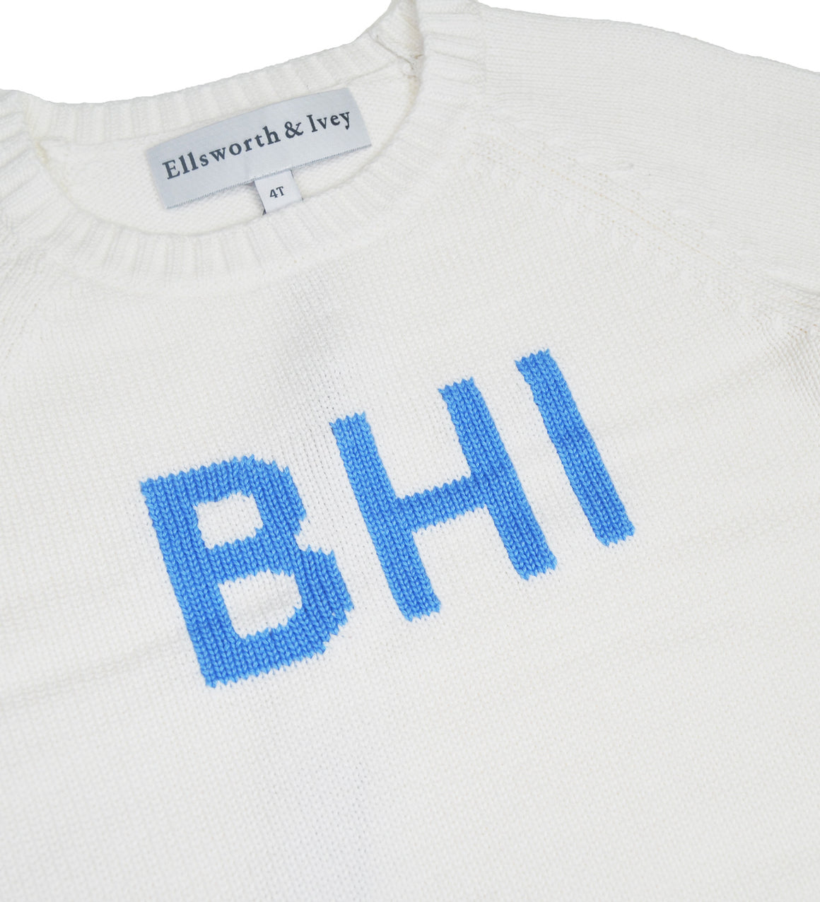 BHI Sweater - Youth - White