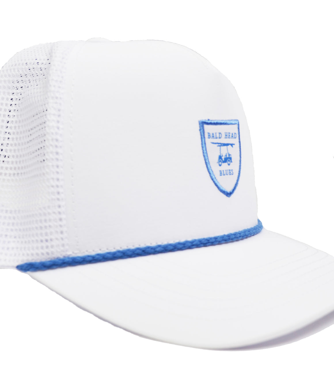 Performance Trucker Hat - White