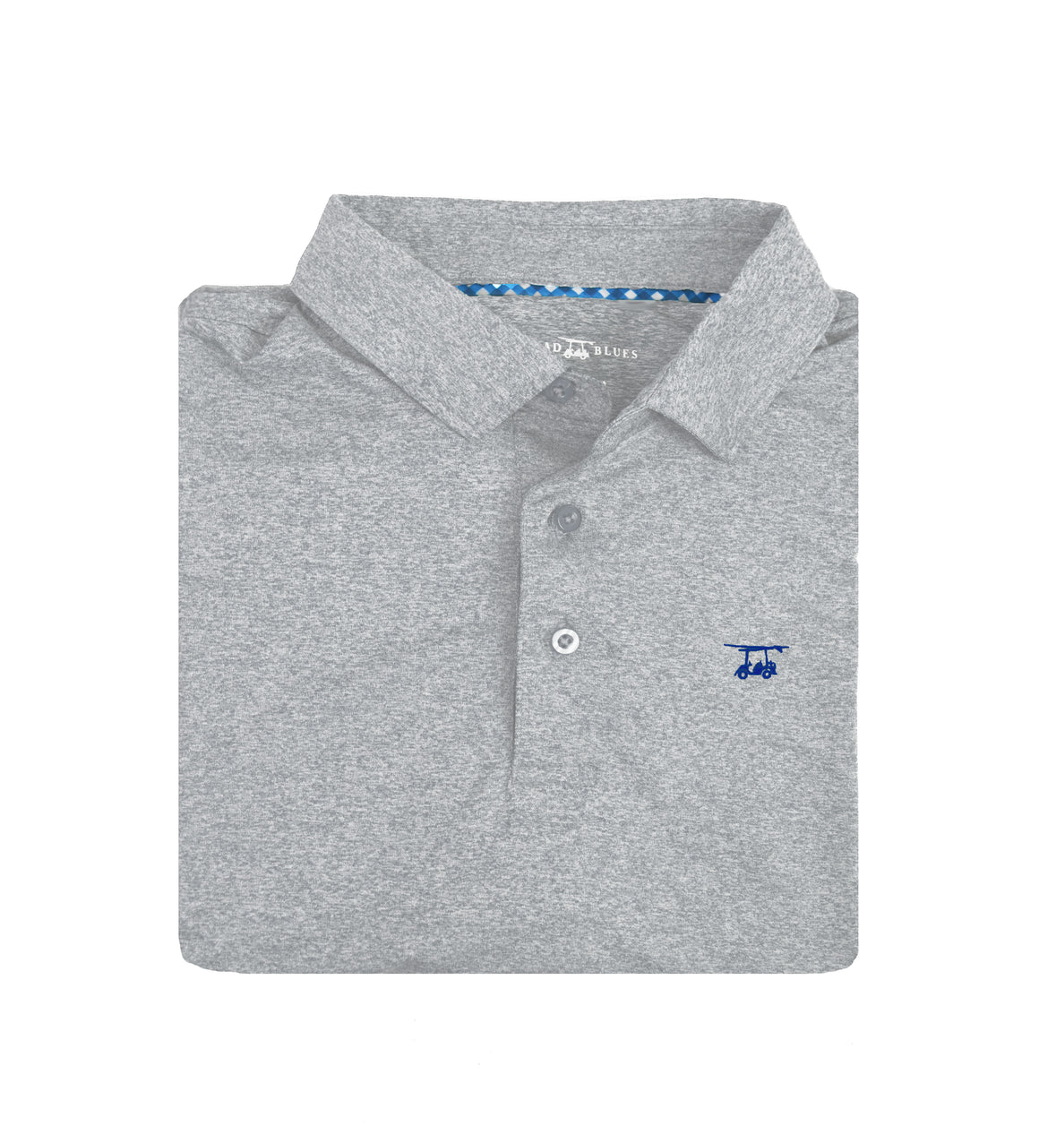 *NEW* Albatross Youth Polo - Heather Monument