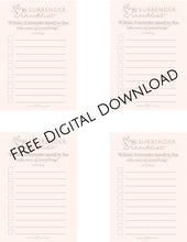 Load image into Gallery viewer, Surrender Checklist (Pack of 5)