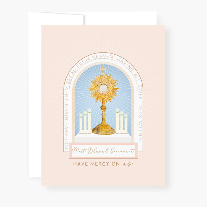 Holy Hour Card | Beige