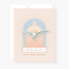 Load image into Gallery viewer, Holy Spirit Novena Card - front view