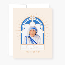 Load image into Gallery viewer, St. Teresa of Calcutta Novena Card | Beige