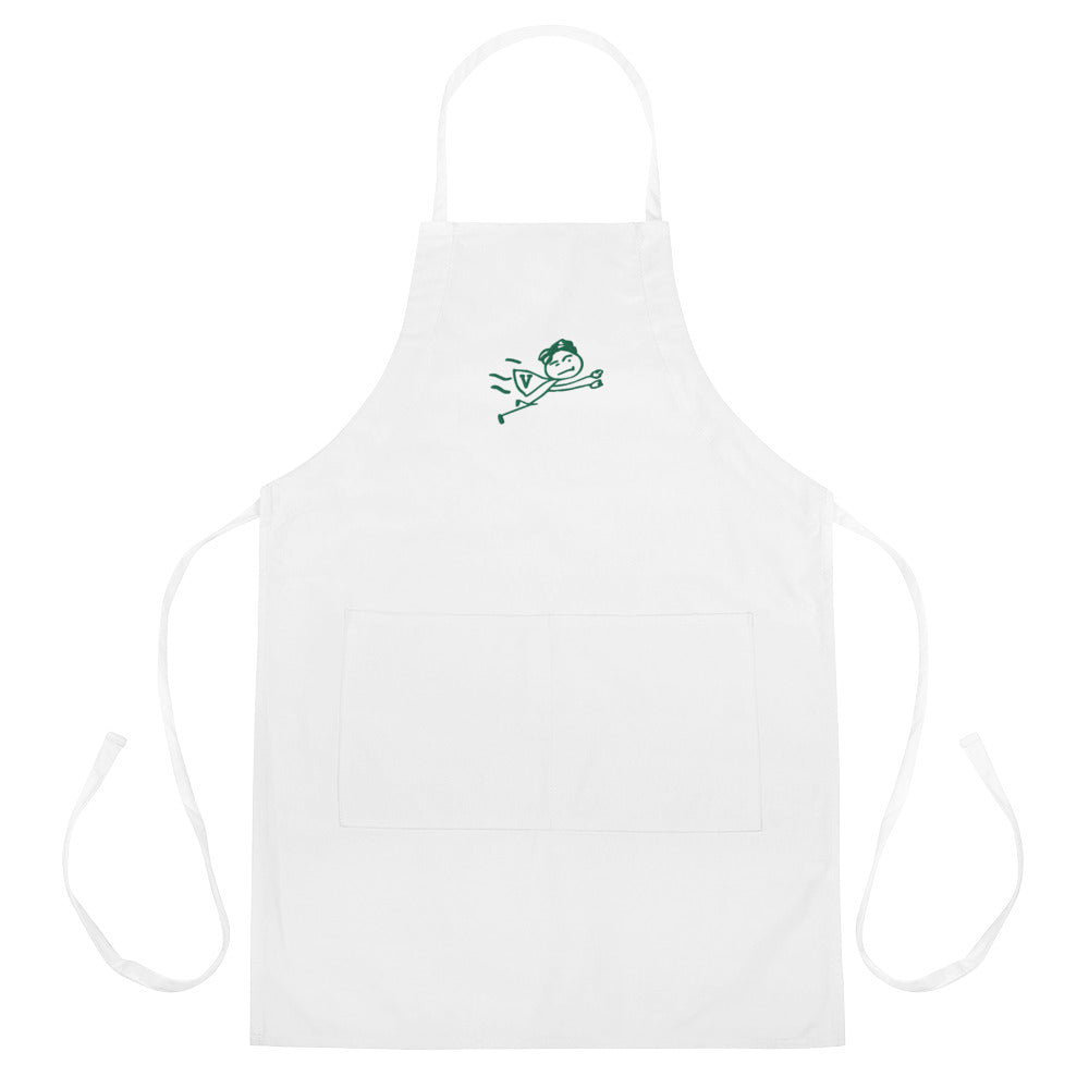 SuperVegan Embroidered Apron