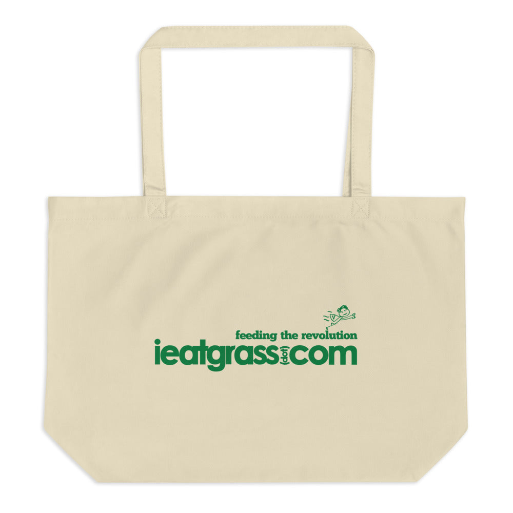 iEatGrass Eco Tote Bag - Large