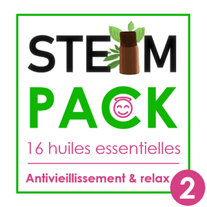 Steam-Pack 2 : Anti-vieillissement & Relaxation