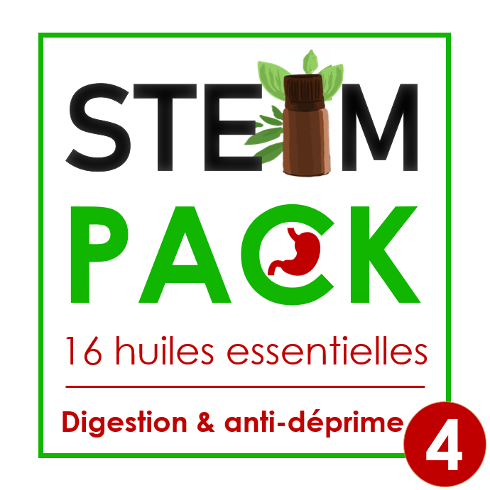 Steam-Pack 4 : Digestion & Anti-déprime