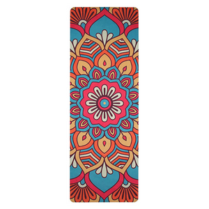 TAPIS DE YOGA MANDALA RED