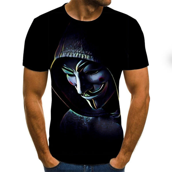 Popular Riding a Motorcycle Skull 3D Print t shirt Men Women tshirt Summer Casual Short Sleeve O-neck Streetwear Tops&Tees clown