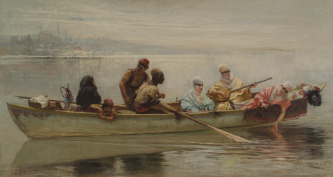 Bridgman, Morning on the Bosphorus